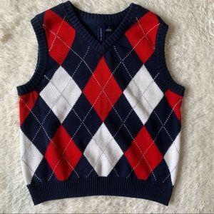 JANIE & JACK | Argyle Sweater Vest